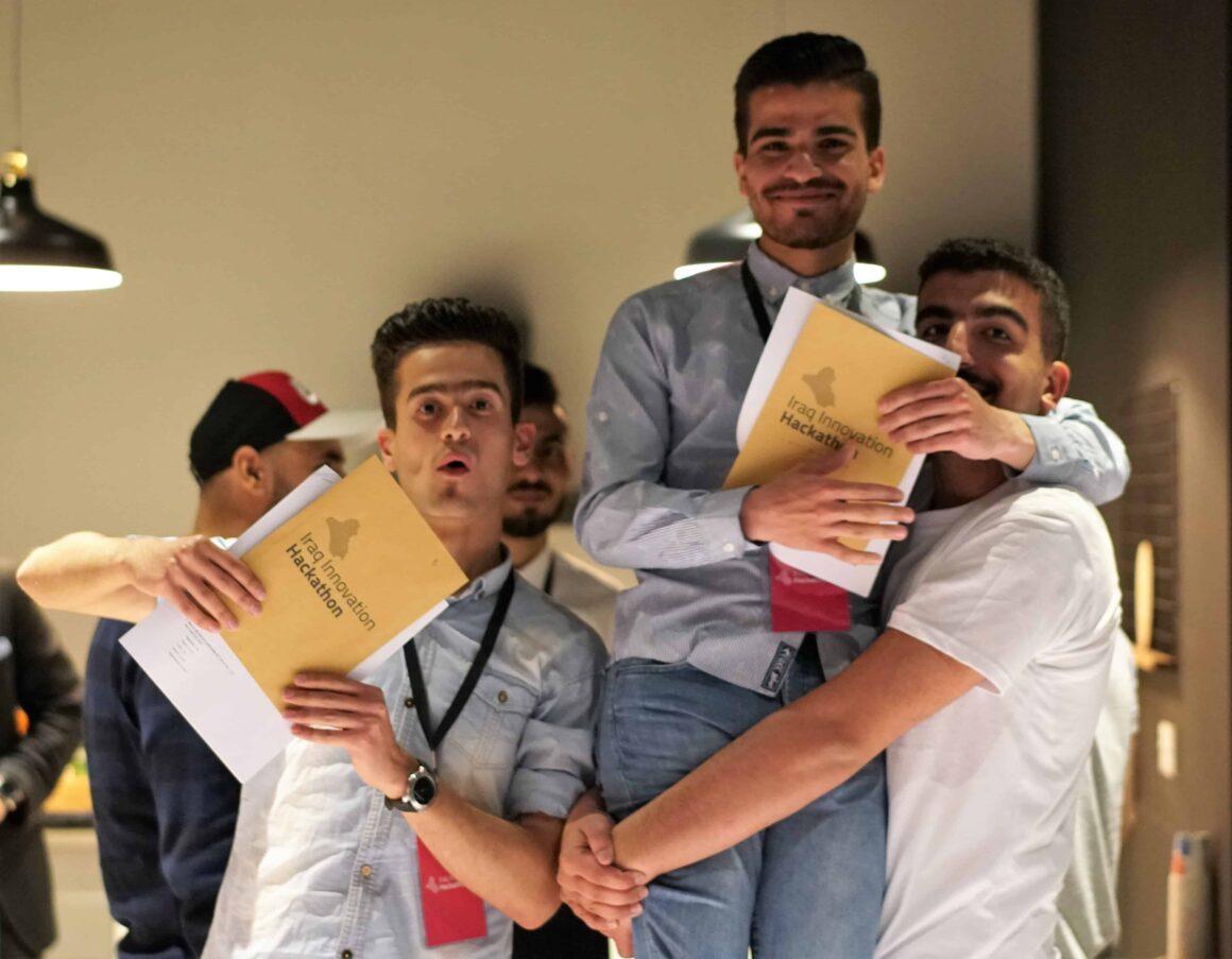 Iraq Innovation Hackathon Erbil Winners