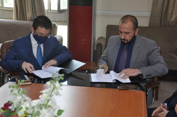 الجامعة التكنولوجية توقع اتفاقية تعاون علمي مع شركة هواوي في العراق