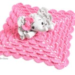 Josefina And Jeffery Elephant Security Blanket Pdf Crochet Pattern