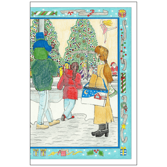 Cover of Christmas Holiday Card