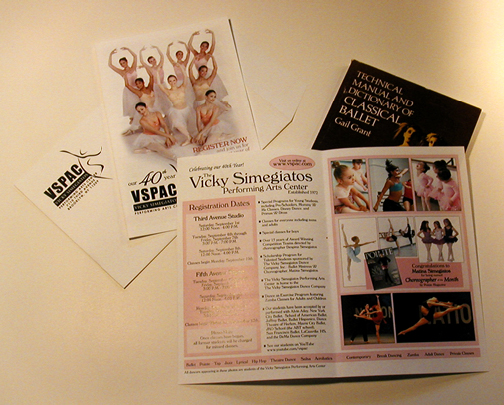 Marketing Materials for Dance Studio