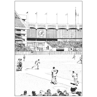 170301_no26_pen_ink_yankeestadium_cover