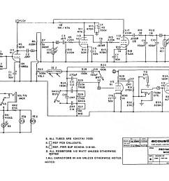 acoustic g100t iration audio acoustic amp 160 schematic [ 3285 x 2528 Pixel ]