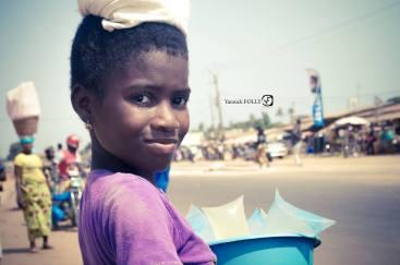 La petite vendeuse d'eau de Pahou
