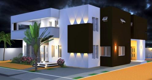 Plan d'une villa à Calavi_Bénin