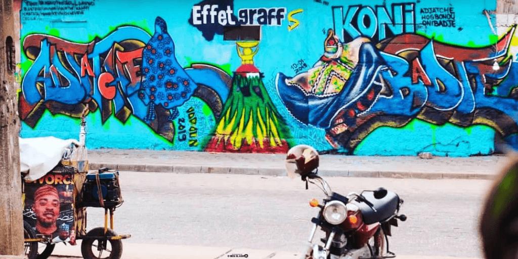 Effet Graff, la tournée 100 % graffiti pour célébrer les héros d'Afrique