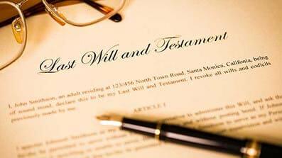 遗嘱,遗嘱认证书和遗产管理书
