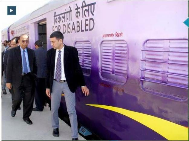 Railway Officials Checking The New Interior