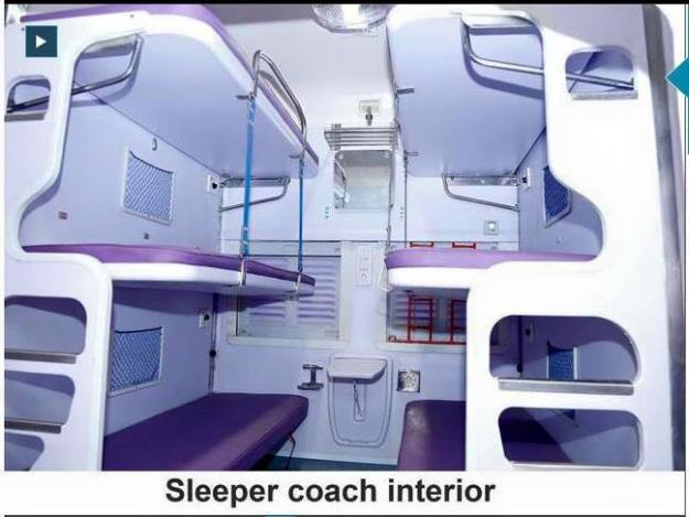 Sleeper Coach Interior