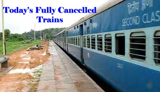 8 November Fully Cancel Trains list available Here