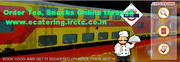 IRCTC with Chaayos Delivered Pre-ordered Hot tea snacks