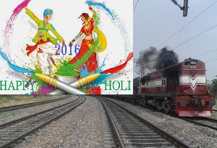 Special Weekly Trains Clear Passenger rush in March Holi