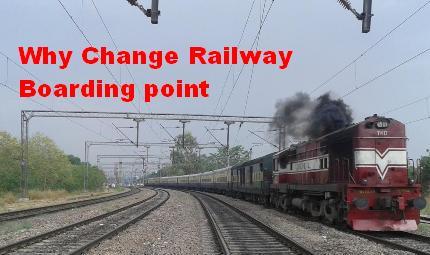 Railway Boarding Point Provide any Facility to Passengers