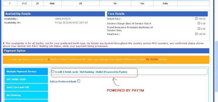 IRCTC paytm refund takes very long time