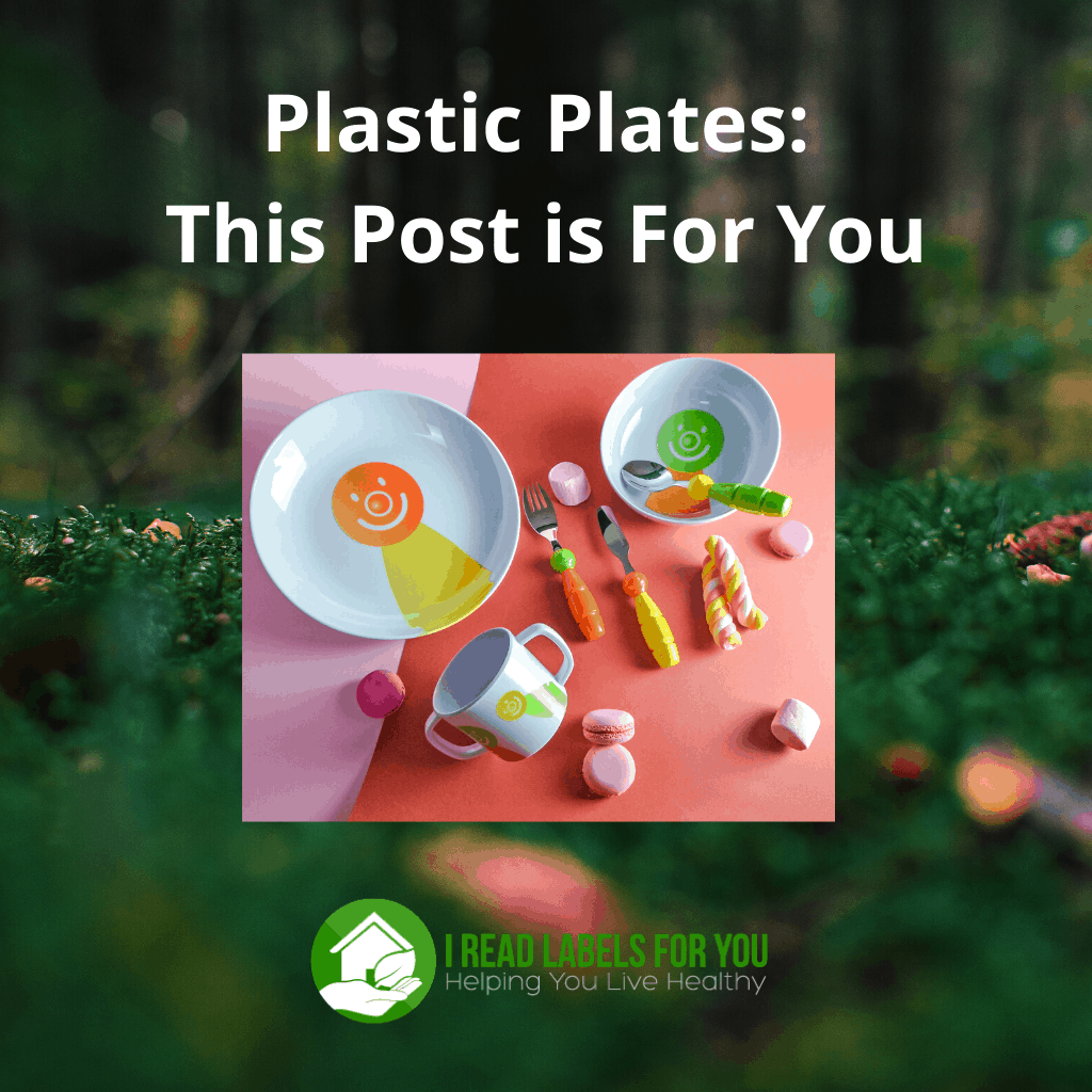 Plastic Plates This Post is For You. A photo of plastic dishes for kids.