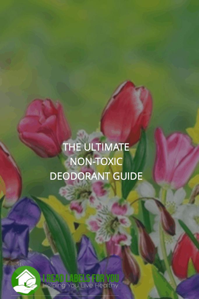non-toxic deodorant guide