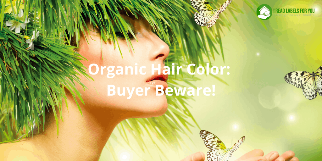 Organic Hair Color_ Buyer Beware. A picture of a woman with organic hair dye hair.