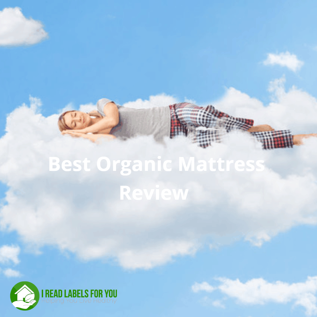 Best Organic Mattress for my family. A woman sleeping on a cloud.