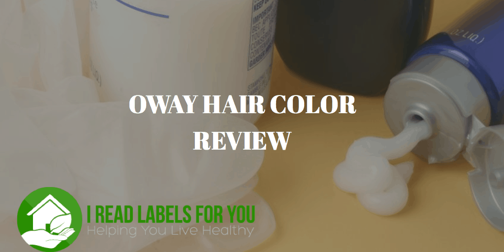 OWAY HAIR COLOR