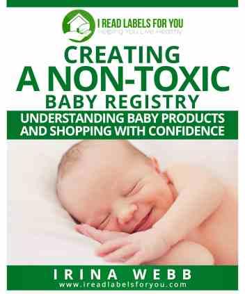 nontoxic baby registry