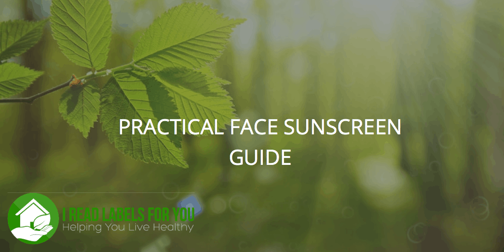 Non-Toxic Face Sunscreen