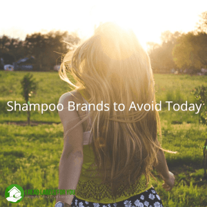 Shampoo Brands to Avoid Today. A picture of a woman who may wash her hair with potentially harmful shampoo brands that use shampoo ingredients to avoid.