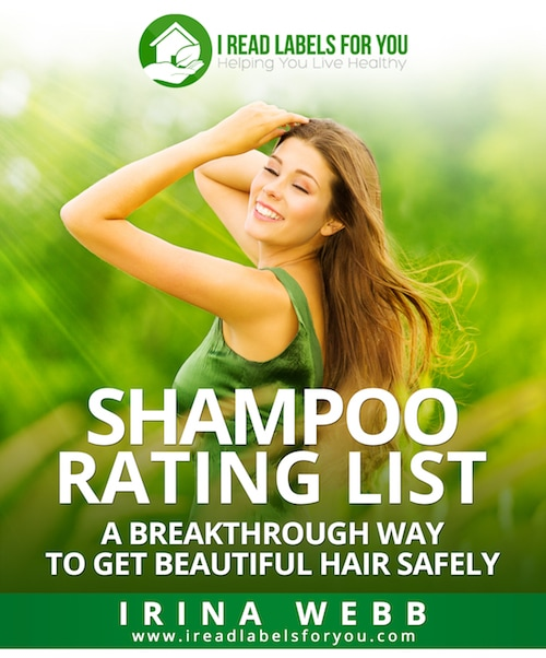the best Shampoo Rating List cover irina webb