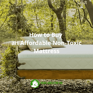 Affordable Non-Toxic Mattress. A picture of a Happsy mattress.