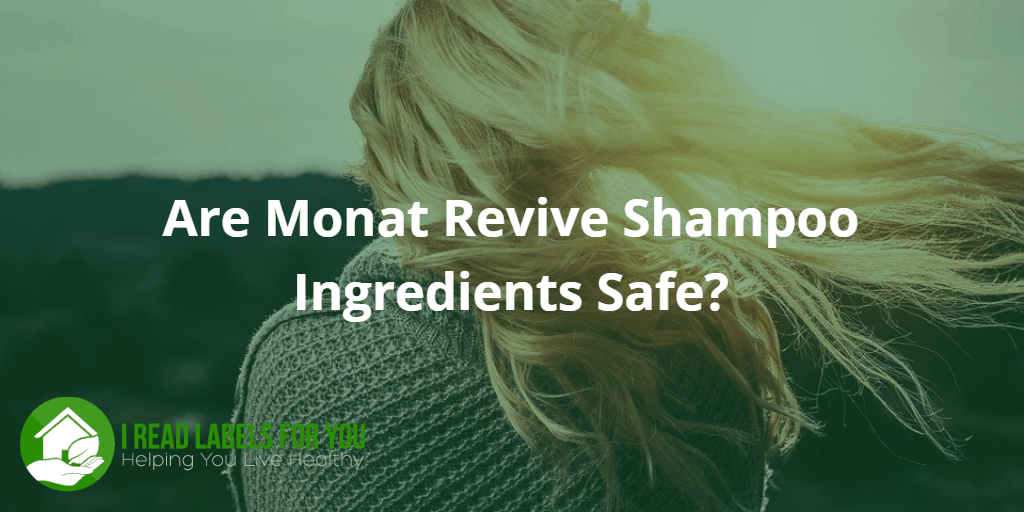 Are Monat Revive Shampoo Ingredients Safe? A photo of a woman standing with her back to the viewer and her blond hair flowing in the wind.
