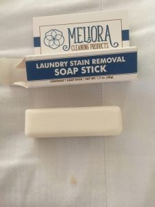 Before using Meliora stain remover