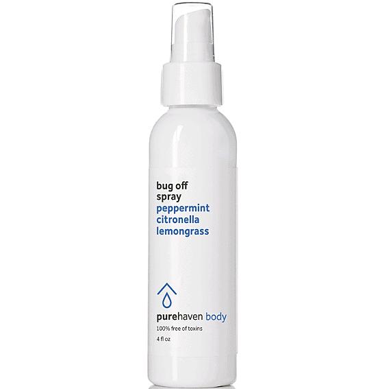 Pure Haven bug off spray