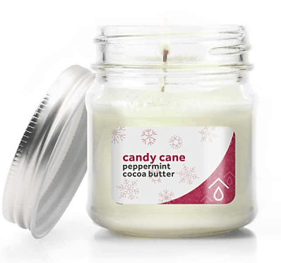 Pure Haven Candy Cane Candle
