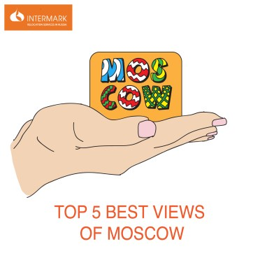 Top Moscow view