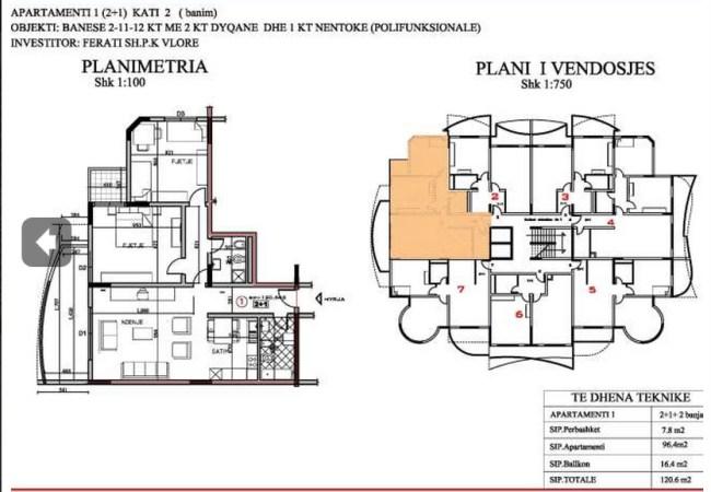 Apartmants for sale in Vlora Albania