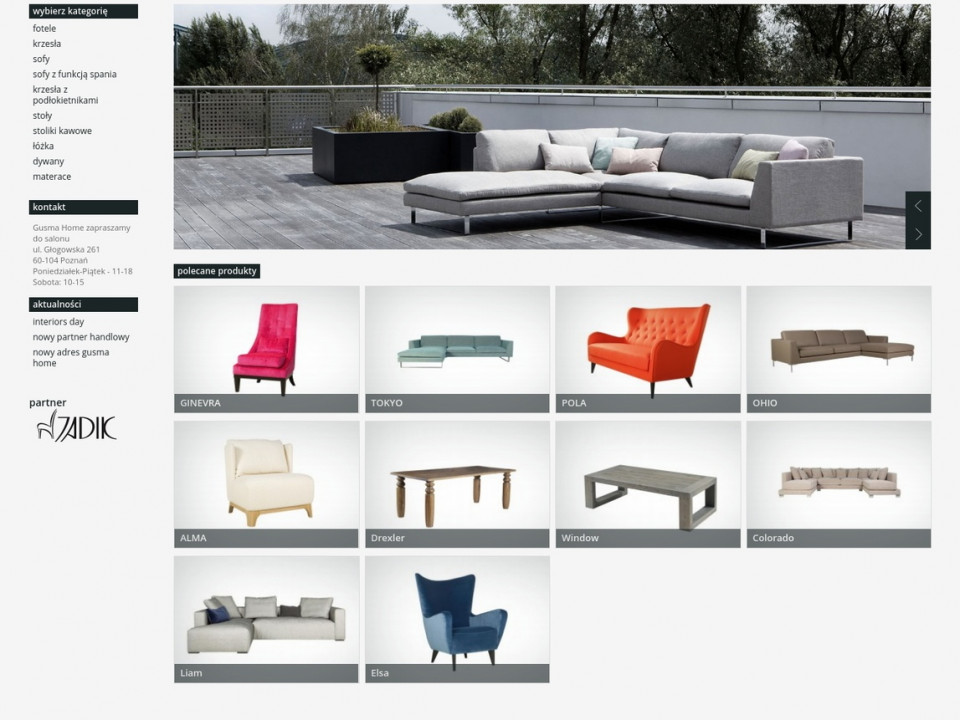 Website Gusma Home