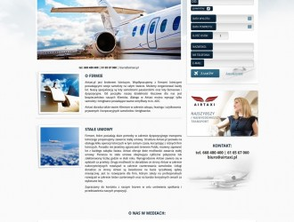Strona internetowa Airtaxi