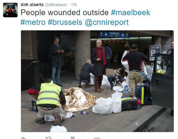 Brussell attacks Maelbeek metro station
