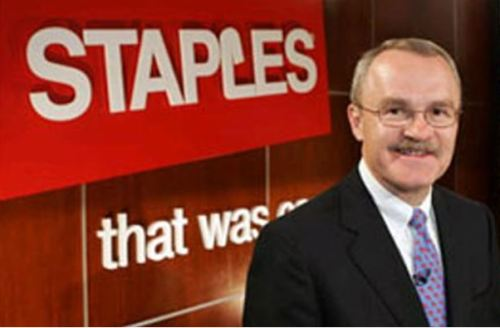 Staples CEO Ron Sargent