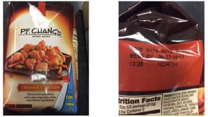 ConAgra P.F. Chang's Recall