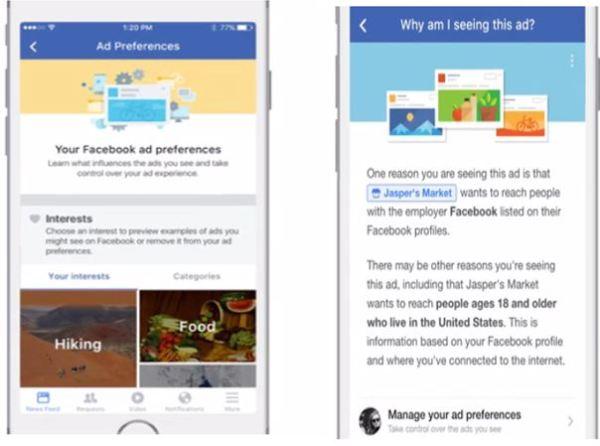 Facebook Ad Preferences
