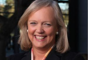 Hewlett Packard CEO Meg Whitman