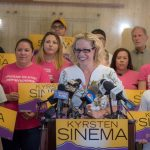 Democrats Likely to Gain Seat in Senate; Arizona Voters Prefer Democrat Kyrsten Sinema over GOP Candidates
