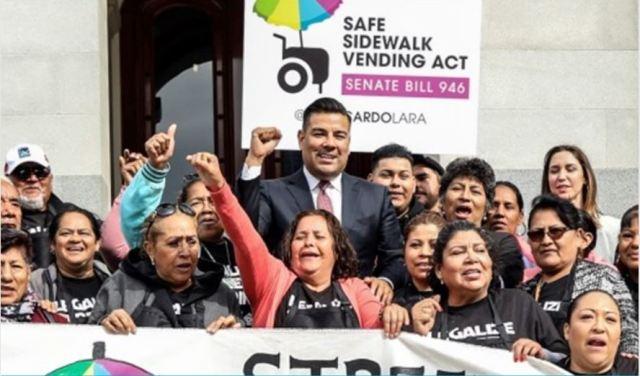 Gov. Brown Signs Safe Side Walk Vending Act