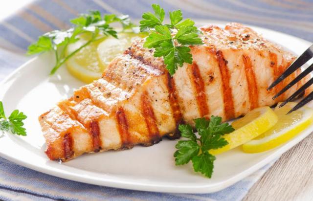 Salmón con salsa cítrica 3