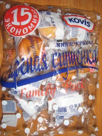 """Кекс KOVIS мини-кексы """"Вареная сгущенка""""   Отзывы покупателей"""