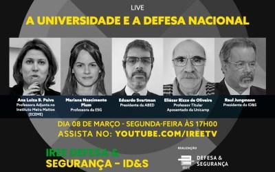 Live do ID&S: A universidade e a Defesa Nacional