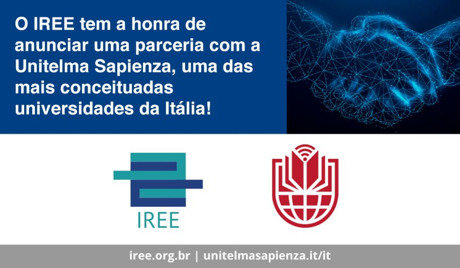 IREE e Unitelma Sapienza firmam parceria