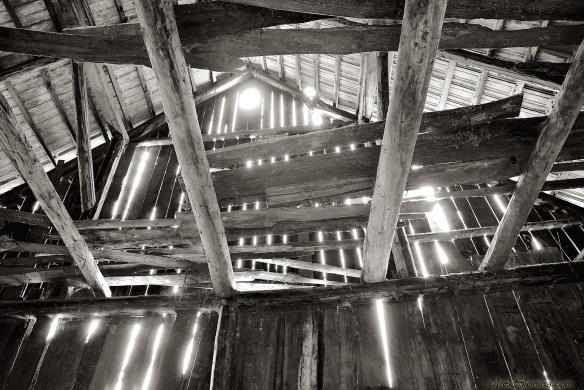 Inside Barn.