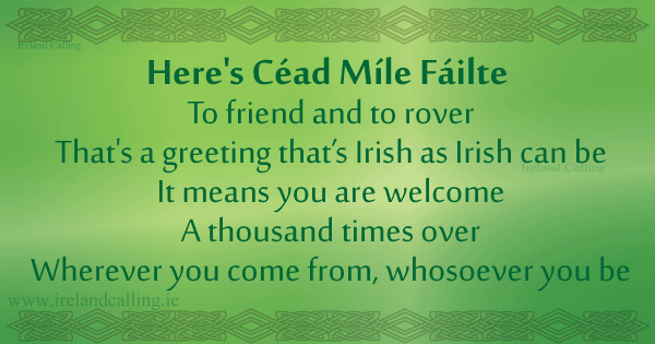 Irish Wisdom To Friends