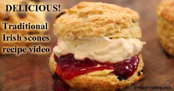 Traditional Irish scones recipe